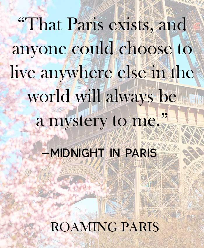Paris quote