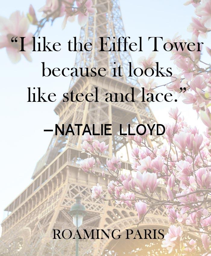 Quote about Paris