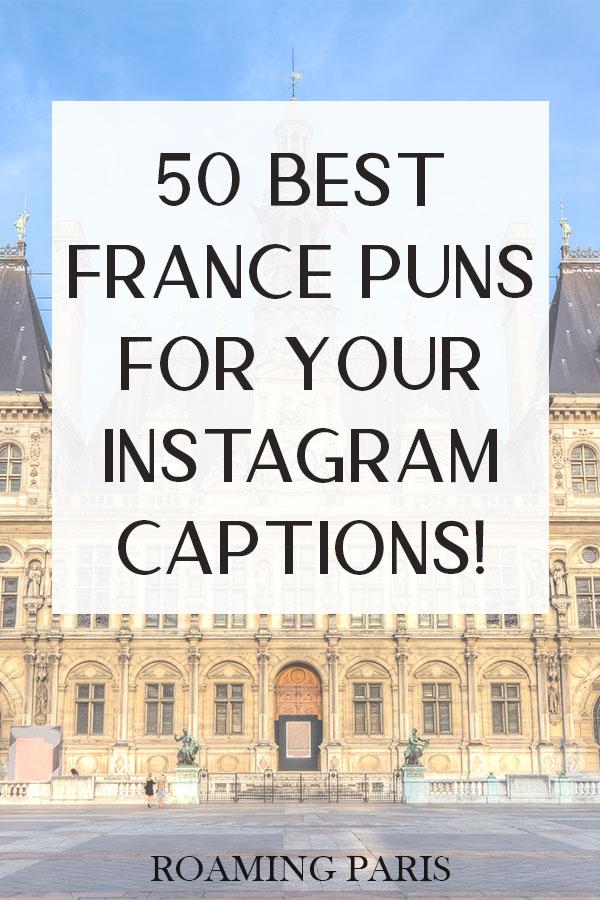 France puns Pinterest graphic