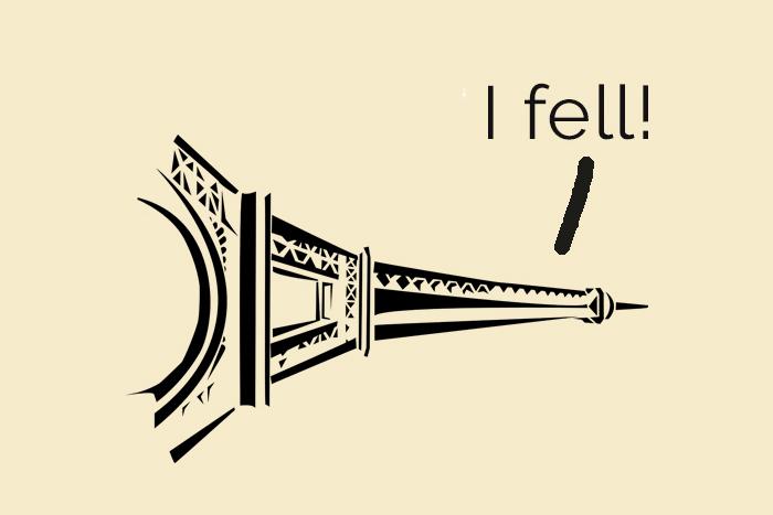 Paris puns with Eiffel Tower