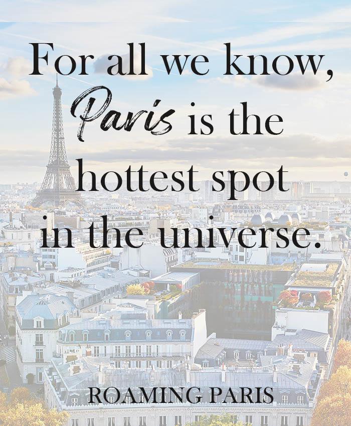 Paris Instagram caption