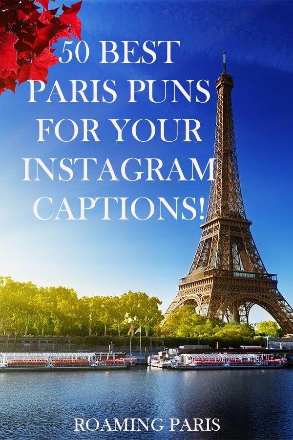 Paris Puns Pinterest graphic