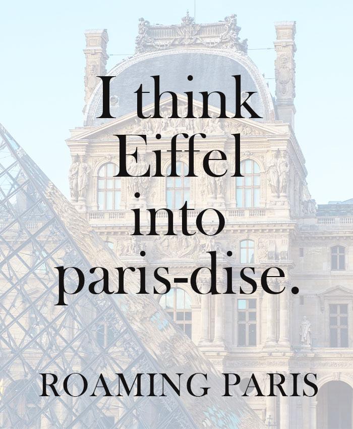 Eiffel Tower puns